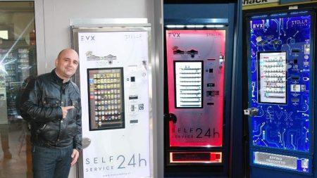 distributori automatici colori