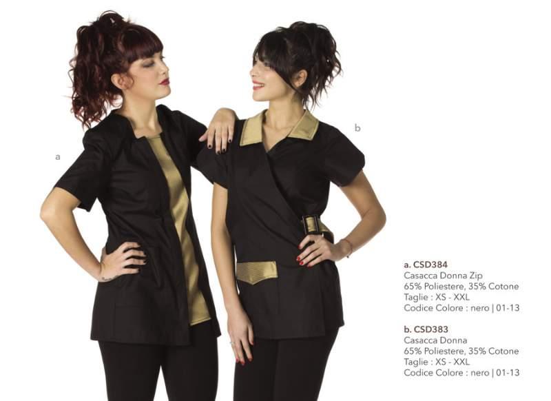 Famoso Le linee abbigliamento lavoro più belle per estetiste | xdirectory NP65