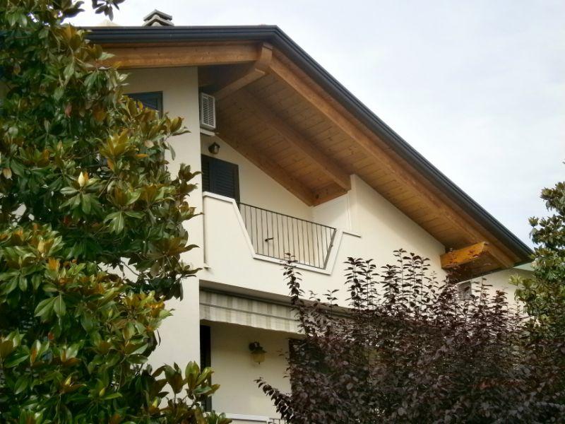 tetto casa in legno